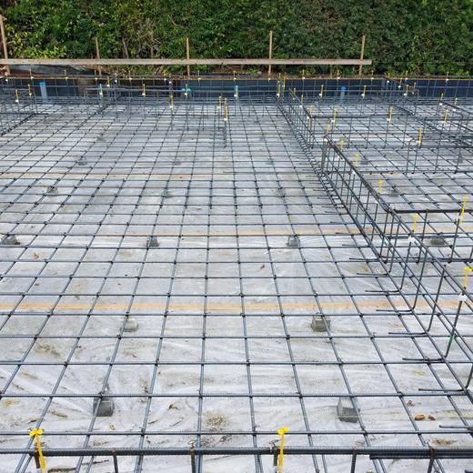 新築工事 基礎検査
