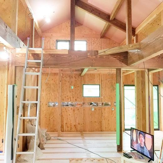 夢ハウス:無垢材の平屋