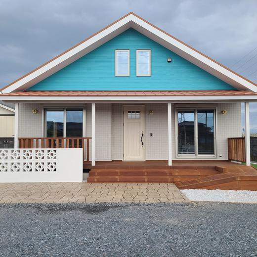 木の平屋モデルハウス 完成!