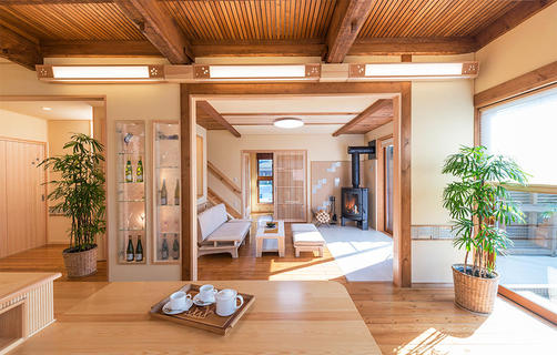 無垢材リノベーション リセット住宅